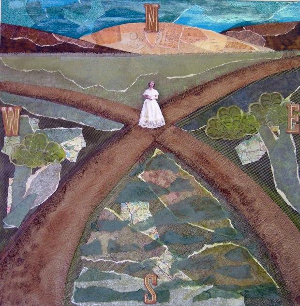 Woman at a crossroads 1